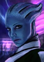 Liara by PrimalClone