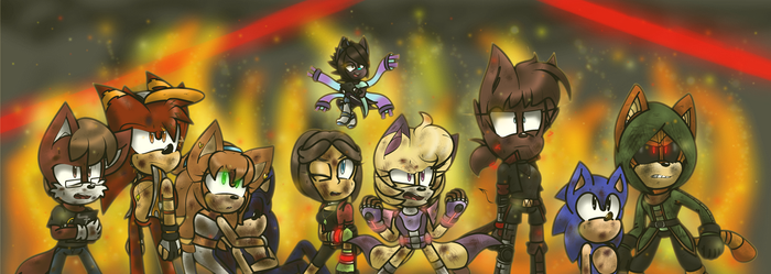 Sonic Forces the Zeroes to be Heroes by RobiKat