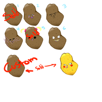 Sexy Potato Adopts - FREE JUST COMMENT by o0BrokenSeaGlass0o
