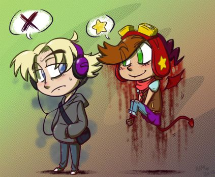 Chibi Boys by PhantomWise19
