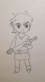 Toon Link by PlushWraith