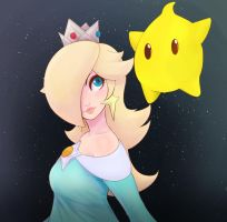 Rosalina and Luma by EymBee
