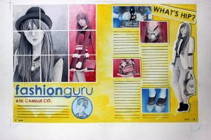 Bleed Fashion Layout Plate by ffdiaries958