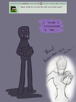 Ask the Creeper re 31 by K-Pepper