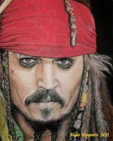Captain Jack Sparrow by DarkCalamity