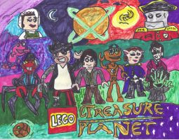 LEGO Treasure Planet by SonicClone