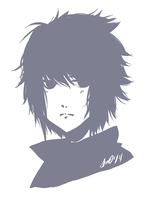 Child Sasuke by drive-a-leaf