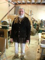 Mountainman costume w Jacket by Marcusstratus