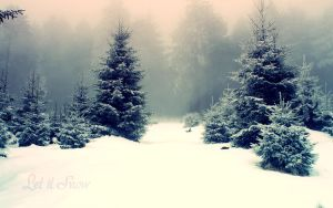 Let it Snow 1920x1200 by magicglitter