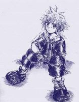 Sora lonely by Mimy1091