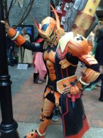 Katsucon 2014: Sand Barioth by murkrowzy
