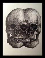 Double Skull by LordColinOneal