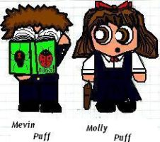 Sailorpuffs:Molly and Melvin by Thom-Serveaux