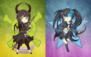black rock shooter by siruvi