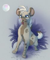 The Elusive Febzhyena by Kitchiki
