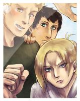 Shingeki no PhotoBooth: MUST PUNCH by Cykranoshka