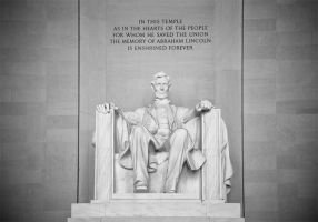Memorial of Abraham Lincoln by SilverSkies07