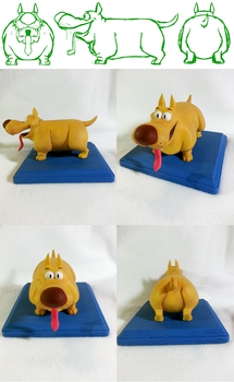 Dog Maquette by koisnake