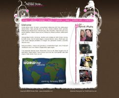 Renee Dale Personal Website by Swiftau