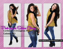 Pack PNG de Selena by ShecidEdiciones