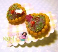 Christmas Mini Cookies by colourful-blossom