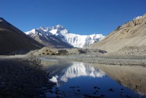 Mount Everest 1 by spaceagejellyhead