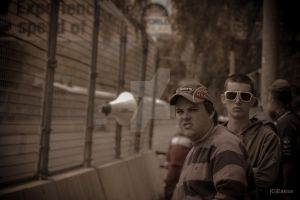 People at the Adelaide 500 by Bluebuterfly72