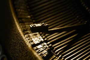 Old typewriter by doulifee
