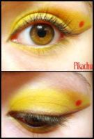 Pokemon Makeup: Pikachu by Steffmiesterx13