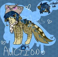 Nerdy Cat Auction Adoptable ((CLOSED)) by snickIett