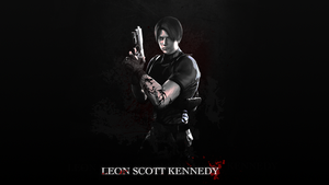 Leon Scott Kennedy Wallpaper by Daphnecool