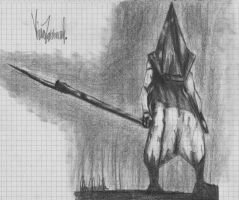 Pyramid Head by KivaTheZoomorphis