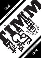 typographic school poster by pyros