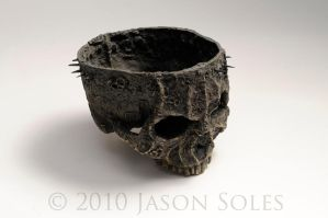 Crown of Thorns Candy Dish by MrSoles