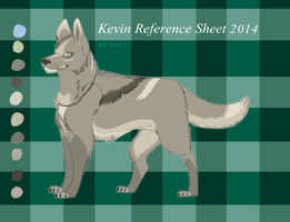 Kevin Reference Sheet 2014 by MorningAfterWolf