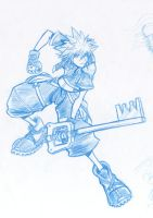 Kingdom Hearts 2-Sora by arvalis