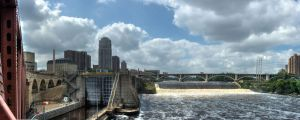 Saint Anthony Falls by 5isalive
