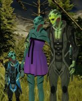 Thane Family by nach77