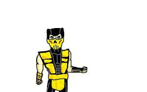 MS Paint Scorpion by IntoTheNothing