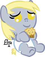 Baby Derpy Hooves by LadyLissyPluto