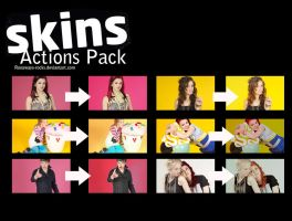 SKINS Action pack by runaways-rocks