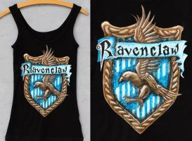 PT - Ravenclaw Crest by threevoices