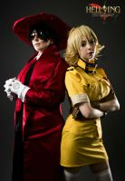 Hellsing: Alucard and Seras by DMinorChrystalis