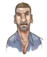 Shane Walsh, Walking Dead by michaelfirman