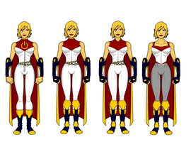 Power Girl Redesigns by SplendorEnt