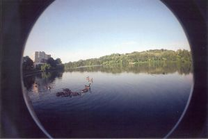 First Fisheye. by BamBamKia