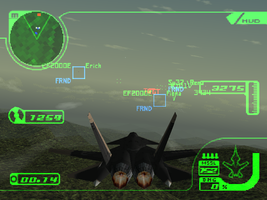 My Ace Combat 3 Session by Stealthflanker