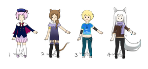 Points Adoptables - Set 1 (Closed) by MagpieJay