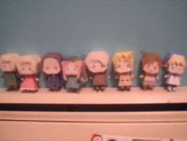 Hetalia Papercraft collection2 by DuckHunter111