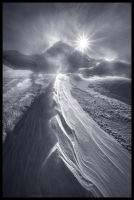 Blizzard Mountain by MarcAdamus